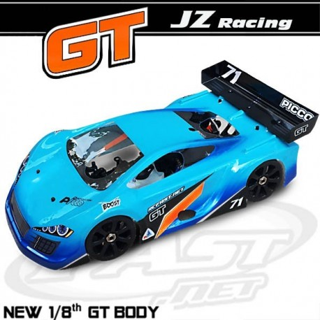 Bolha Flow JZ Racing 1/8 GT