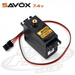 Servo SAVOX Digital  8,0kg Hi Voltage 7,4v
