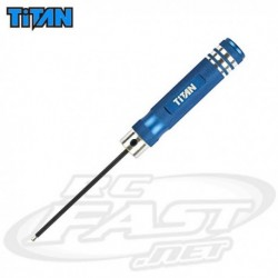Chave Allen 2.5mm Ball - Titan RC
