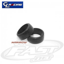 Pneu Diant. GL Racing  RCP Slick - 25 Degree
