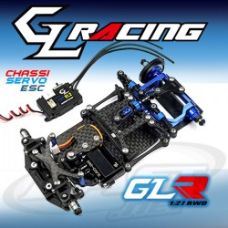 GLA 1/27 4WD Chassis Set